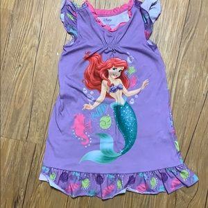 Disney little mermaid nightgown